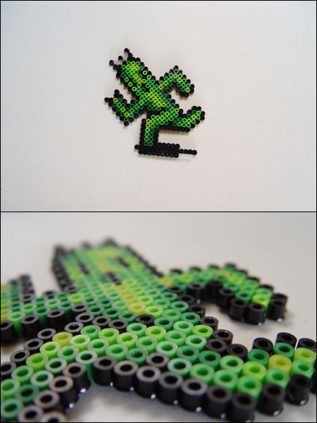 Final Fantasy 6 Cactrot Bead Sprite Magnet